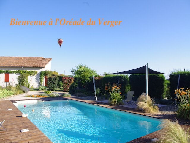 A holliday rental for foor with swimming-pool in Lot-et-Garonne